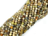 Dendritic Opal Beads, Moss Opal, 4mm Round Beads-BeadXpert
