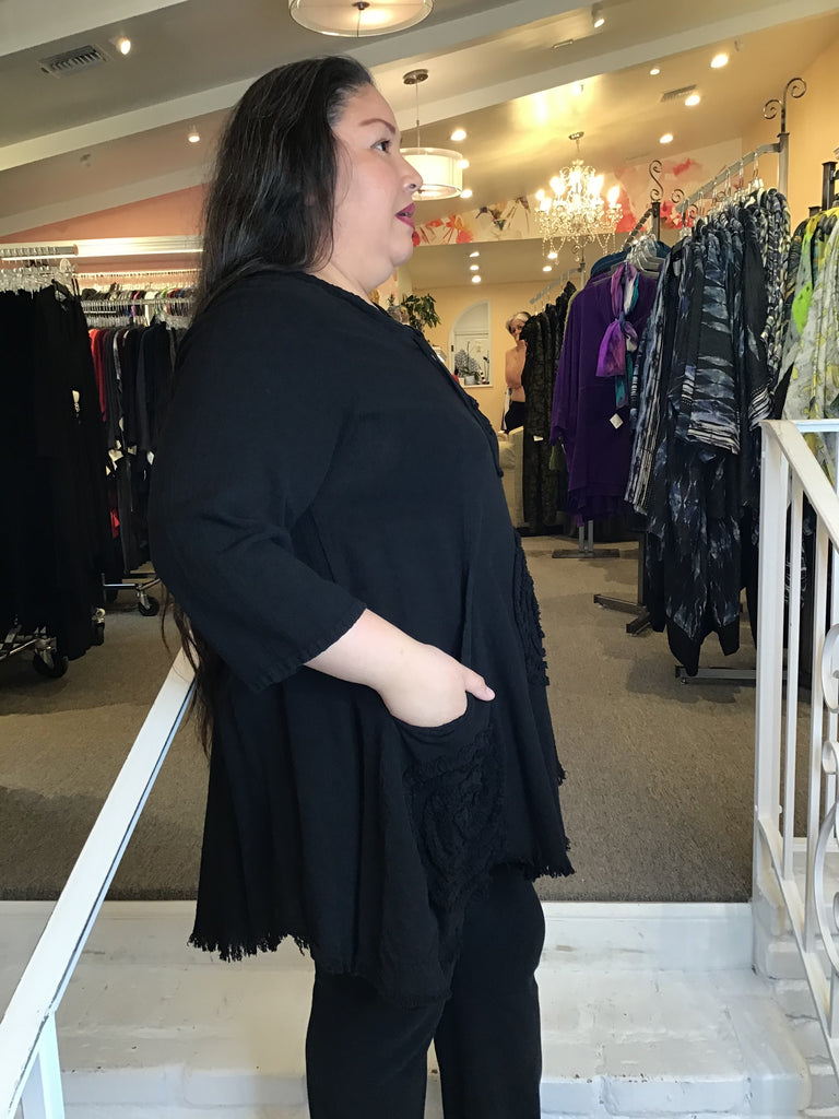 CIRCLE TUNIC, OH MY GAUZE - ABUNDANCE PLUS SIZE