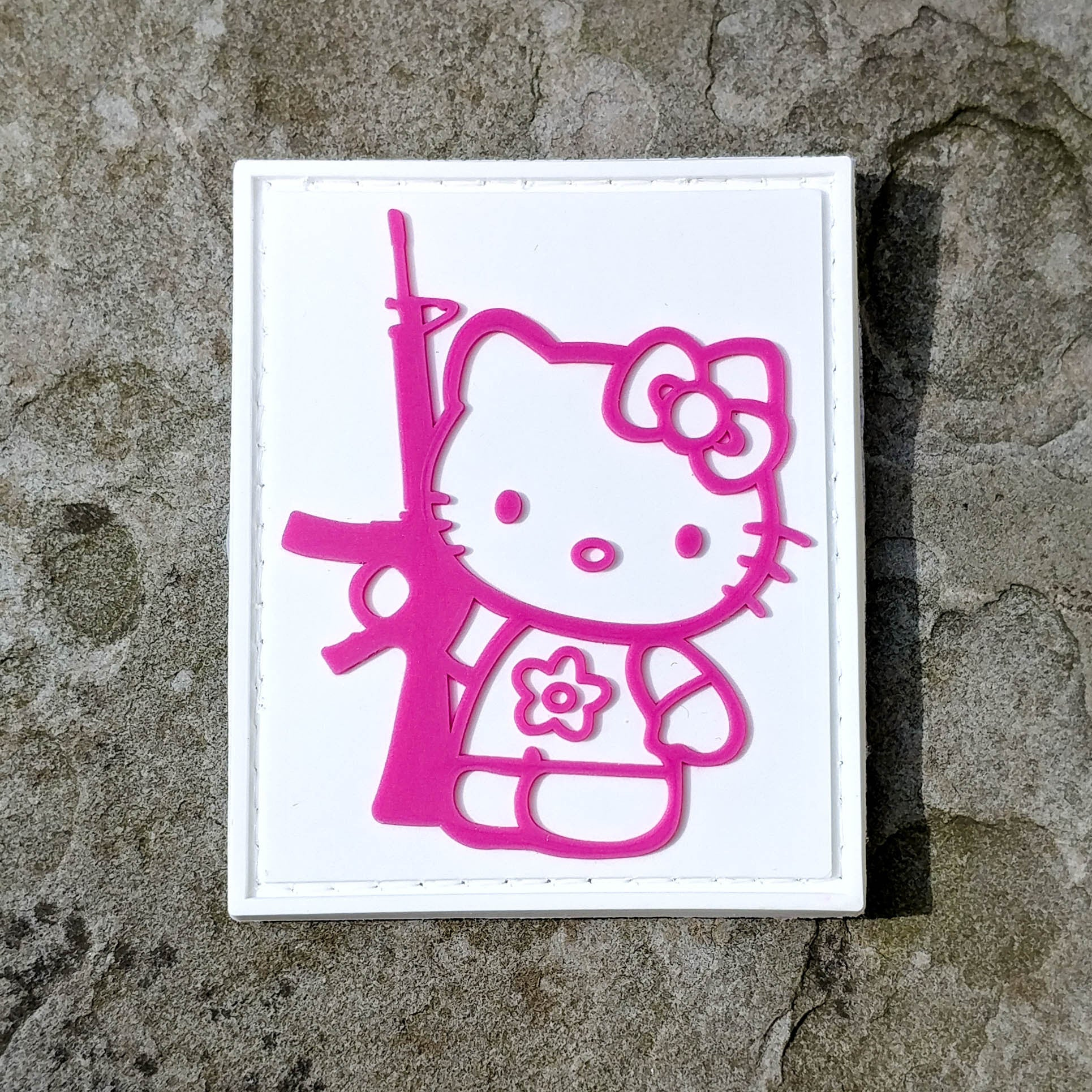 Amazon. Com: hello kitty-tactical patch armbands velcro patch (3).