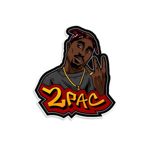 2 Pac Vinyl Sticker