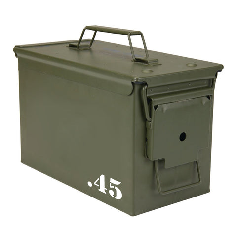 (4 Pack) Ammo Can Vinyl Transfer Decals