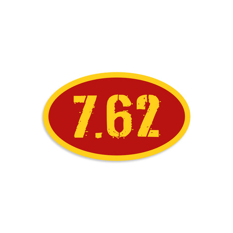 7.62 Ammo Sticker