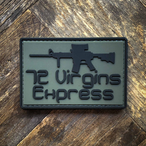 72 Virgins Morale Patch