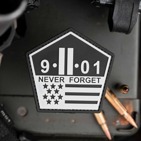 9-11-01 Never Forget Patch