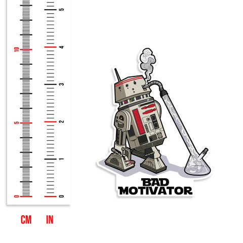 R5-D4 Bad Motivator Droid Star Wars Vinyl Sticker