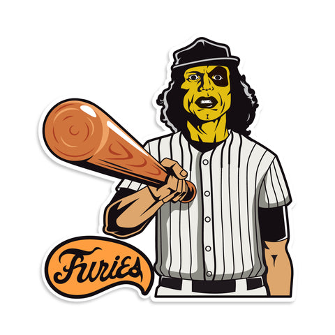 Baseball Furies Warriors Vinyl Sticker
