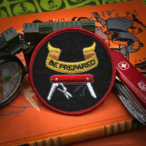 Be Prepared Embroidered Badge