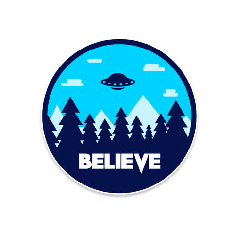 Believe X-Files Vinyl Sticker