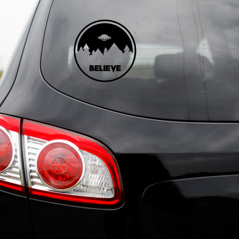 Believe Transfer Decal