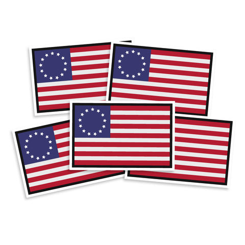 Betsy Ross Flag Vinyl Sticker