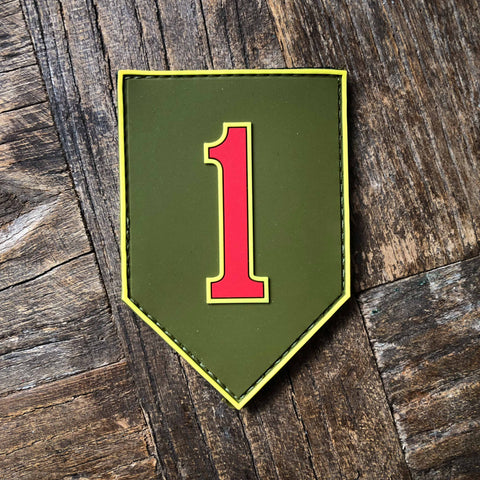 1st Infantry Division Badge Big Red One