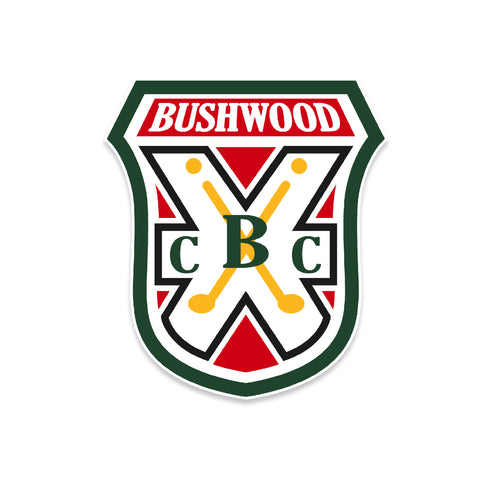 Bushwood Country Club Vinyl Sticker