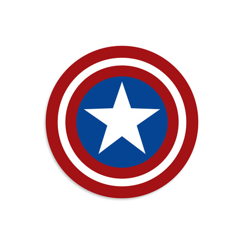 Captain America Vinyl Sticker