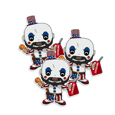 Captain Spaulding Sticker