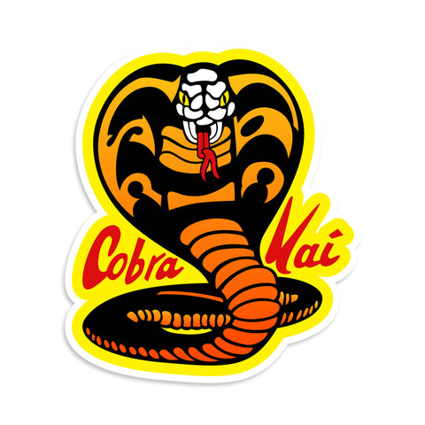 Cobra Kai Vinyl Sticker