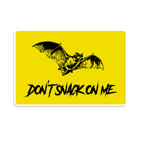 Don't Snack On Me Vinyl Sticker
