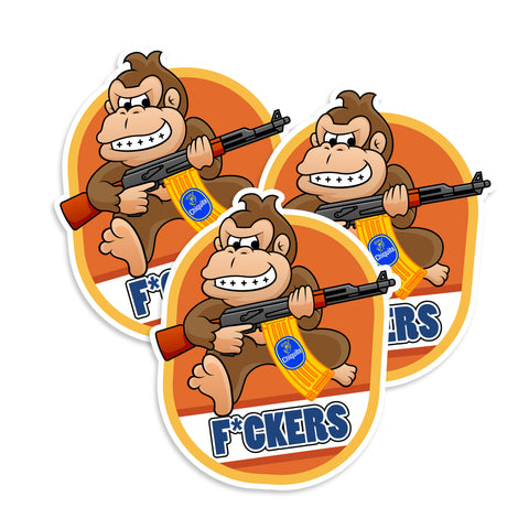 Donkey Kong Sticker Set
