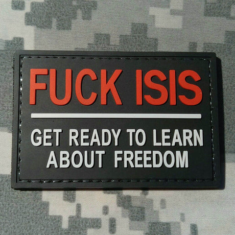 Fuck Isis Morale Patch