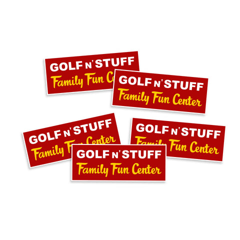 Cobra Kai Karate Kid Golf N Stuff Vinyl Sticker