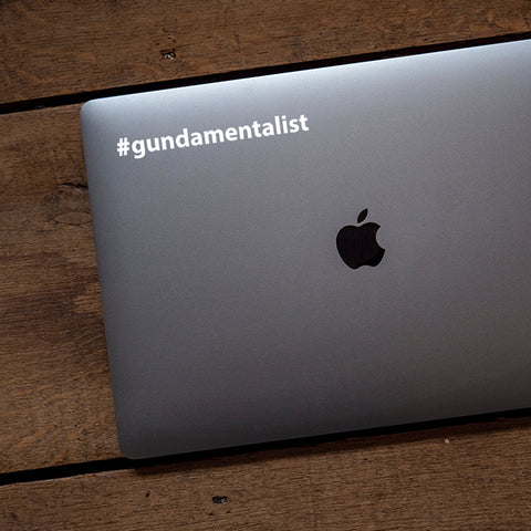 Gundamentalist Transfer Decal