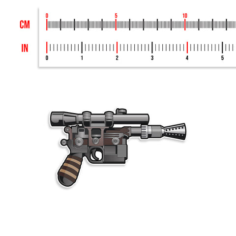 Updated DL-44 Star Wars Blaster Vinyl Sticker