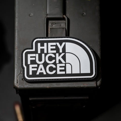 Hey Fuck Face Morale Patch