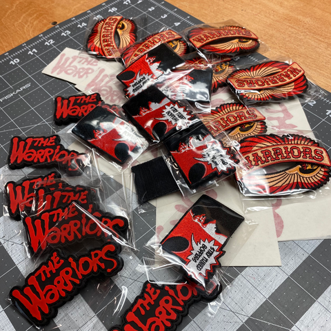 Valentine's Day Warriors Patch & Sticker Set Special