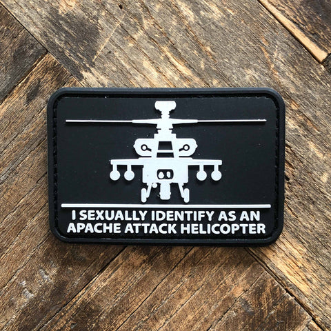 I Sexually Identify As An Apache Attack Helicopter Patch