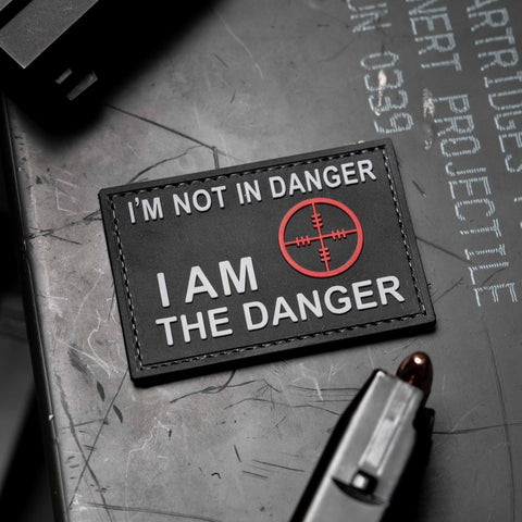 I'm Not In Danger I Am The Danger PVC Morale Patch