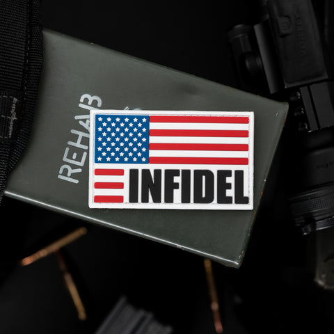 Infidel US Flag Patch