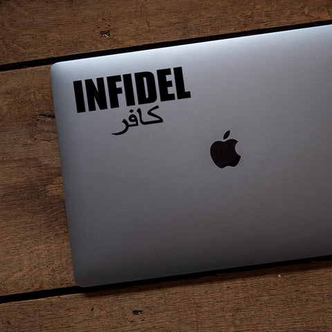 Infidel Transfer Decal - SALE