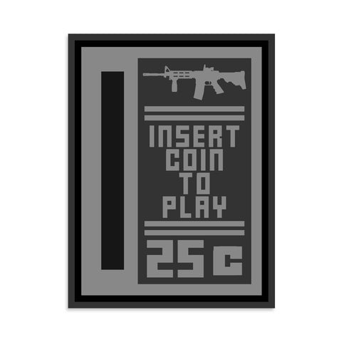 Insert Coin To Play Vinyl Sticker