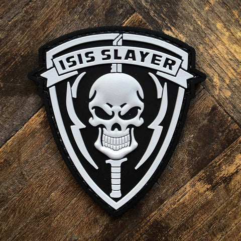 ISIS Slayer Morale Patch (SKULL) - PVC Morale Patch