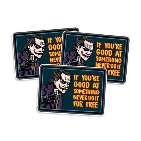 Joker Vinyl Sticker