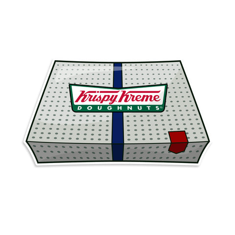 Krispy Kreme Donuts Thin Blue Line Sticker