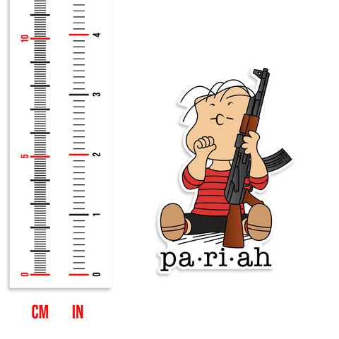 Pariah Series Peanuts Linus With AK Vinyl Sticker