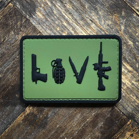 LOVE Morale Patch