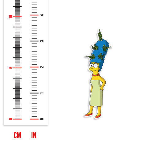 Marge Simpson Sticker