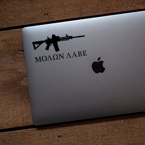 Molon Labe Vinyl Transfer Decal