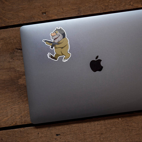 Where The Wild Things Are Nameless Monster #1 Vinyl Sticker