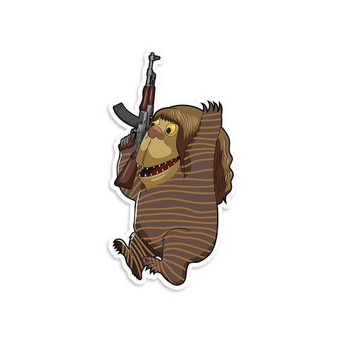 Where The Wild Things Are Nameless Monster #2 Vinyl Sticker