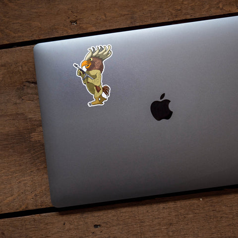 Where The Wild Things Are Nameless Monster #4 Vinyl Sticker