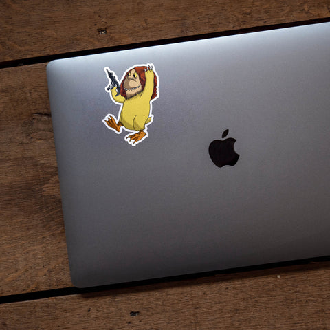 Where The Wild Things Are Nameless Monster #6 Vinyl Sticker