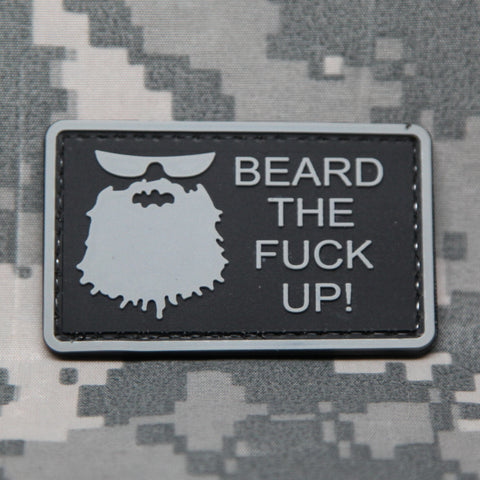 Beard The Fuck Up Morale Patch