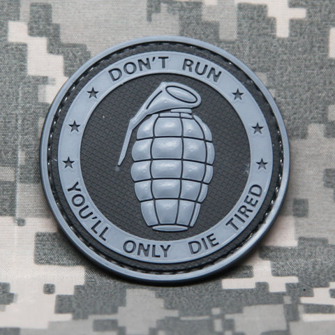 Don't Run You'll Only Die Tired Morale Patch