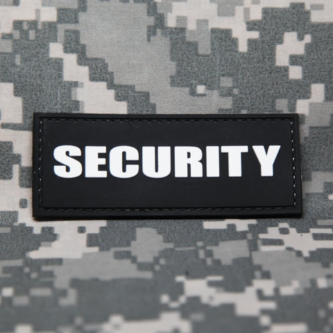 SECURITY PVC Morale Patch