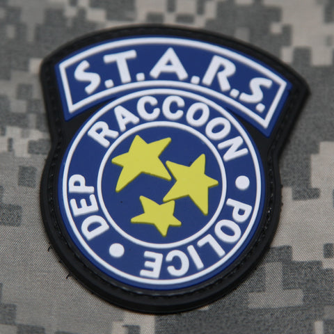 S.T.A.R.S. Raccoon Police Dep Morale Patch
