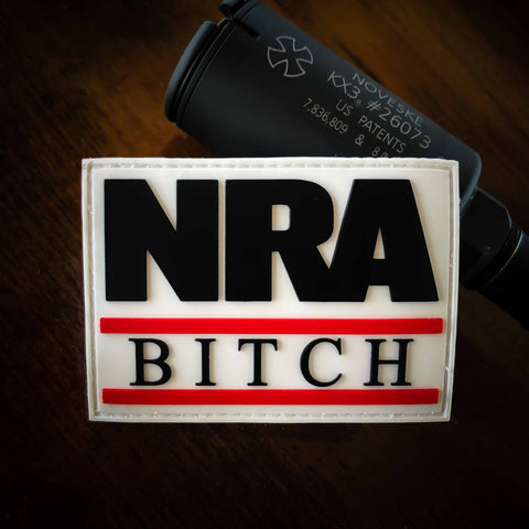 NRA Bitch PVC Morale Patch