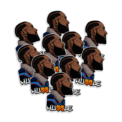 Nipsey Hussle Stickers