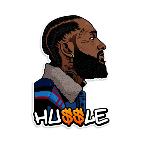 Nipsey Hussle Sticker